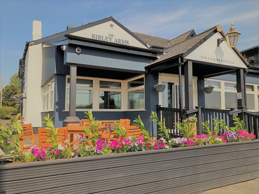Birley Arms Hotel Warton pub and restaurant exterior