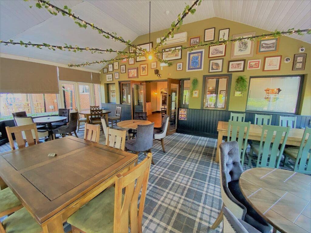 Birley Arms Hotel Warton pub conservatory for casual family dining