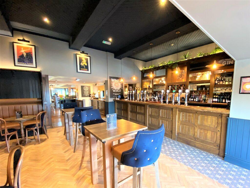 Birley Arms Hotel Warton pub main bar and pub seating