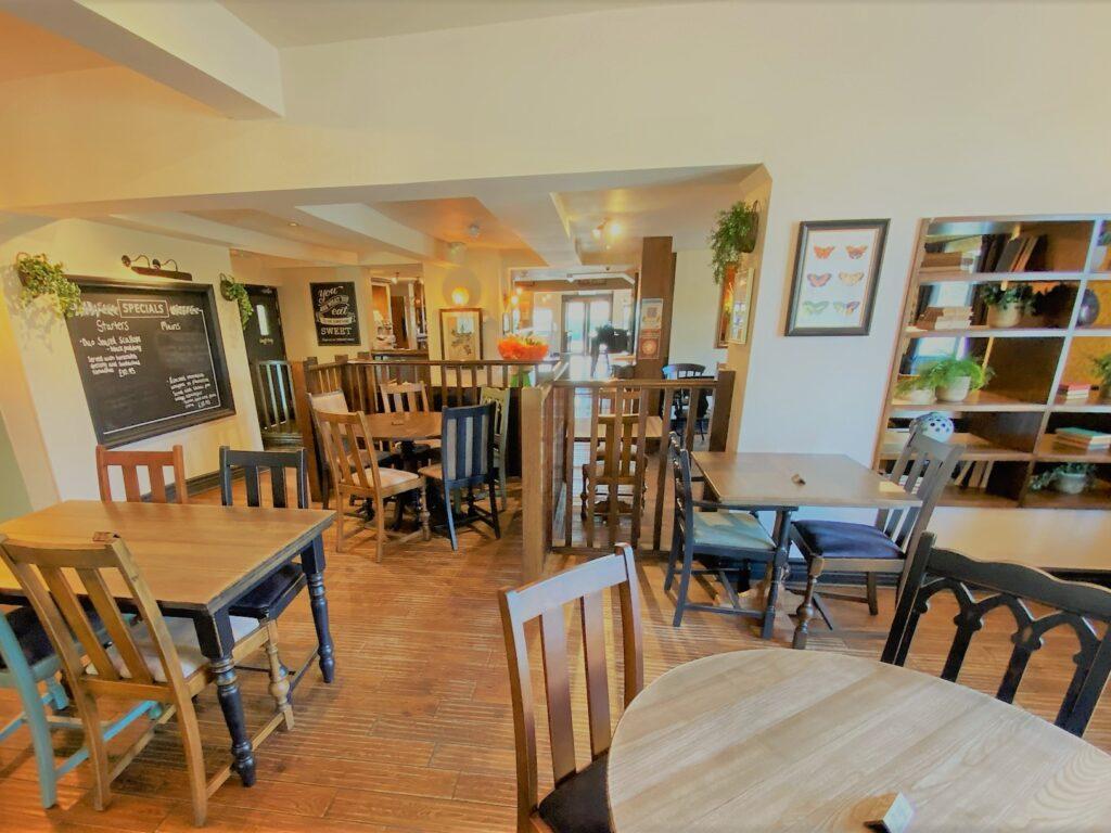 Birley Arms Hotel Warton pub dining room interior