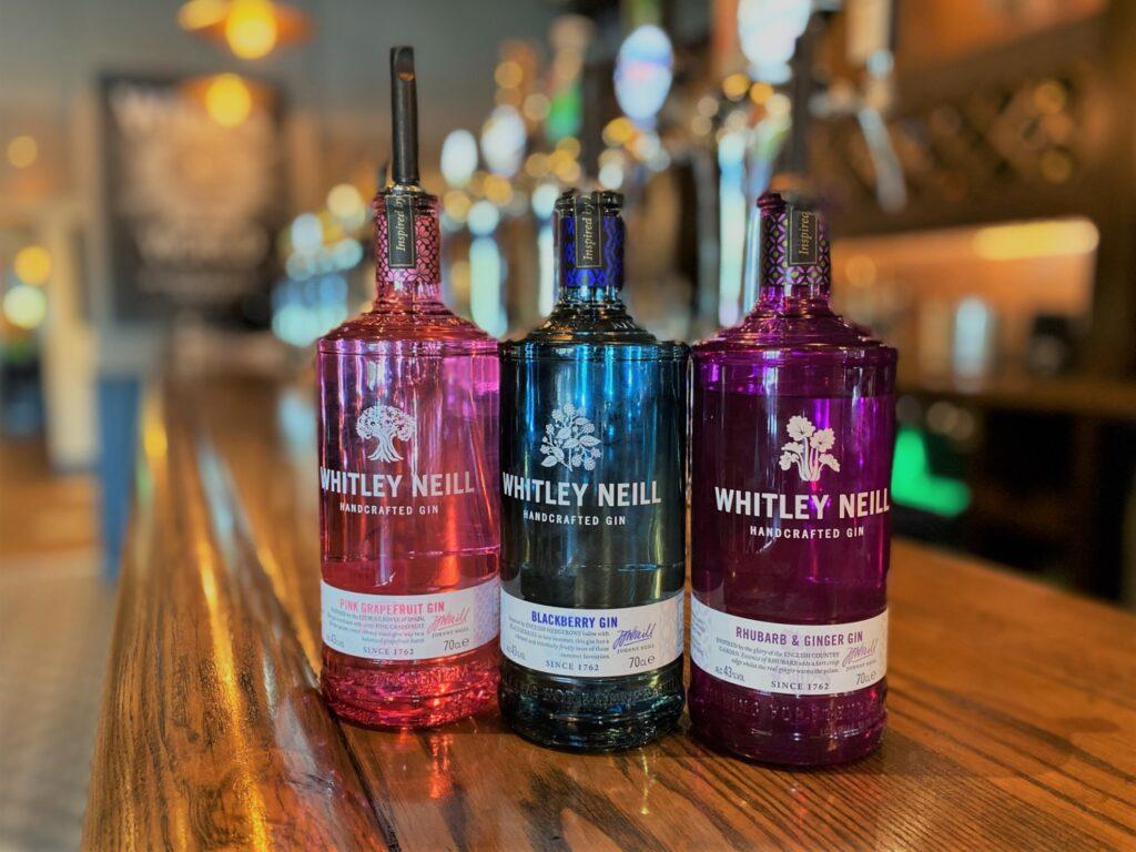 Birley Arms Hotel Warton pub bar gin whitley neill